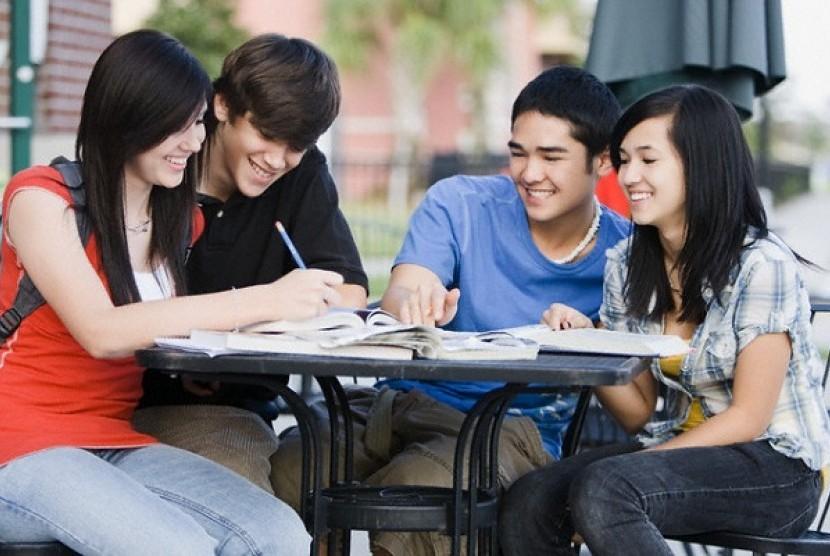 Kuliah di luar negeri. Ilustrasi
