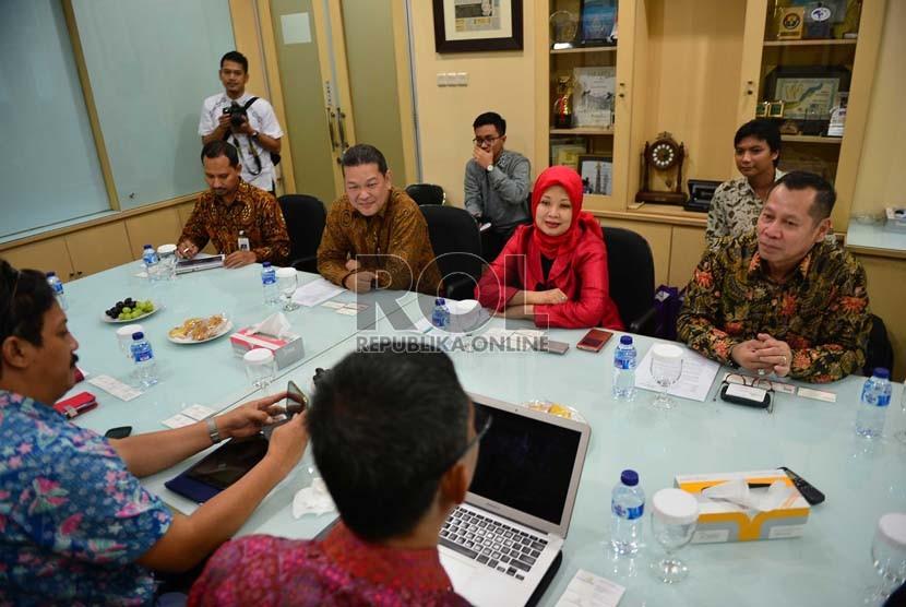 Kunjungan Direksi Bank Muamalat ke Harian Republika, Jumat (27/2)