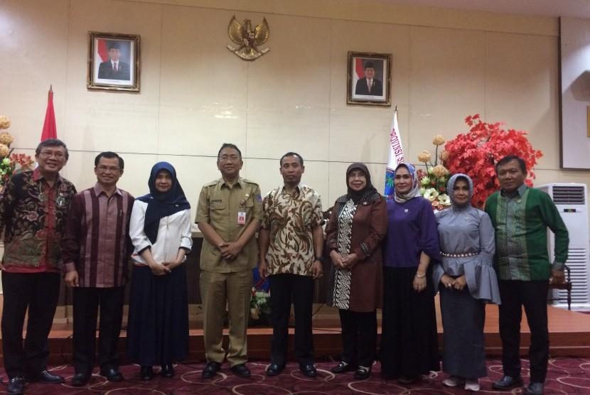 Kunjungan kerja Komite II DPD RI I ke Sulawesi Utara.