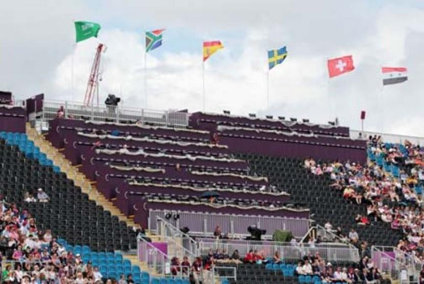 Kursi kosong di ajang Olimpiade London 2012