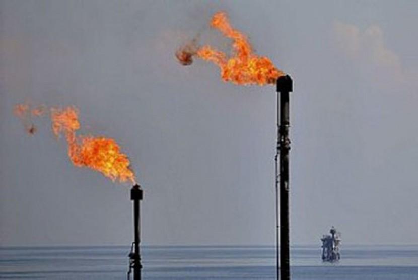 Ladang gas, ilustrasi