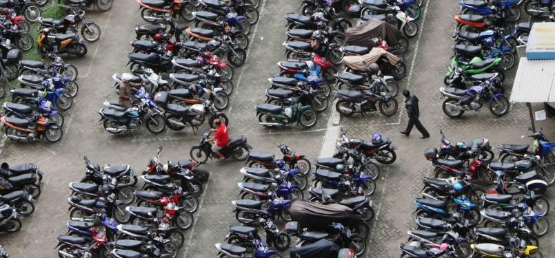 Lahan parkir (ilustrasi)