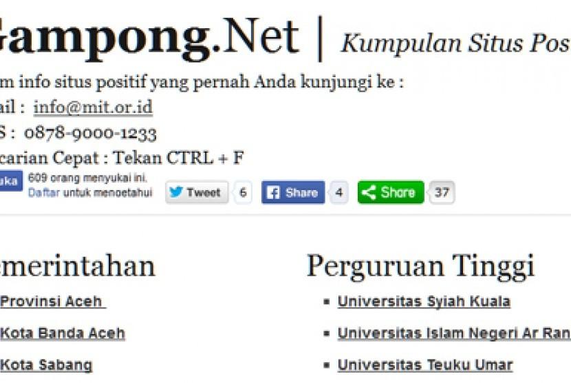 Laman Gampong.Net