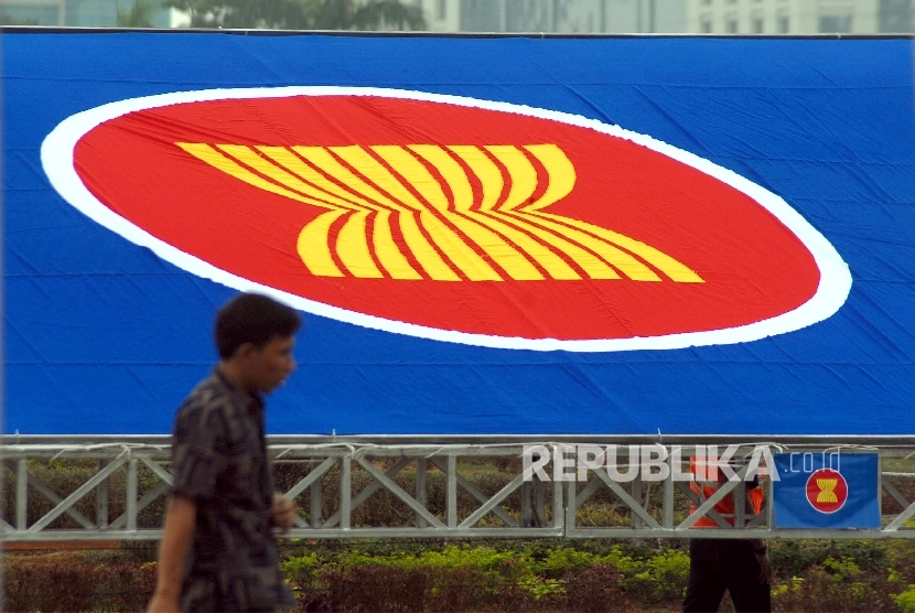 ASEAN logo.