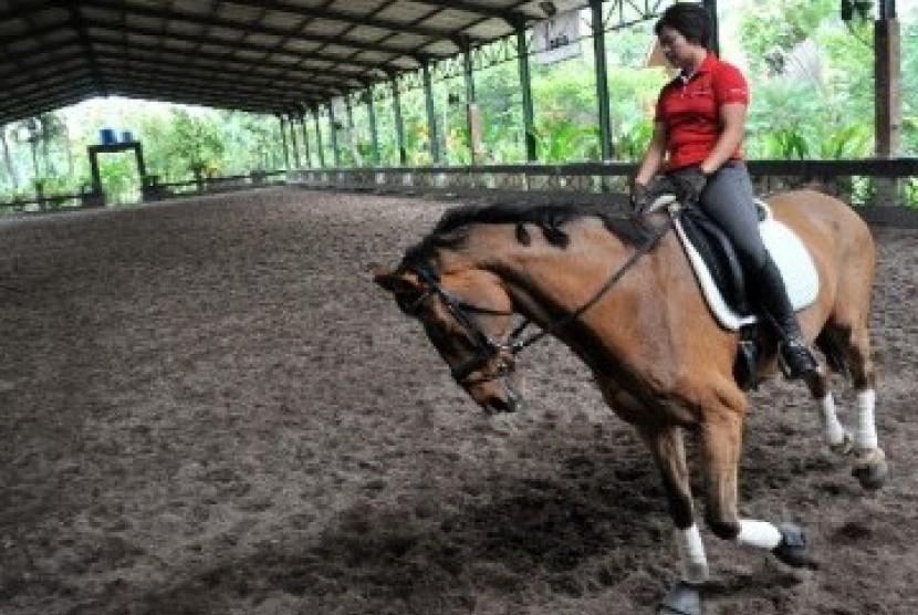 Latihan berkuda (ilustrasi)