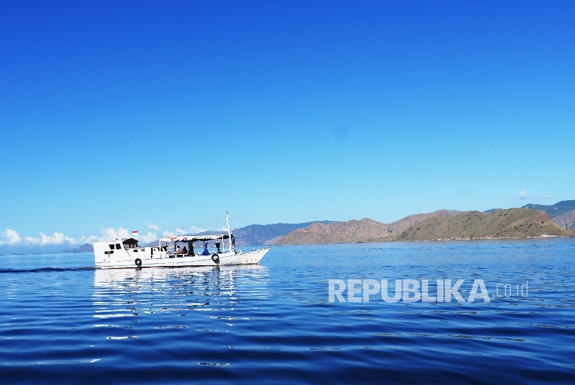 Diving spot near Komodo Dragon National Park, East Nusa Tenggara.