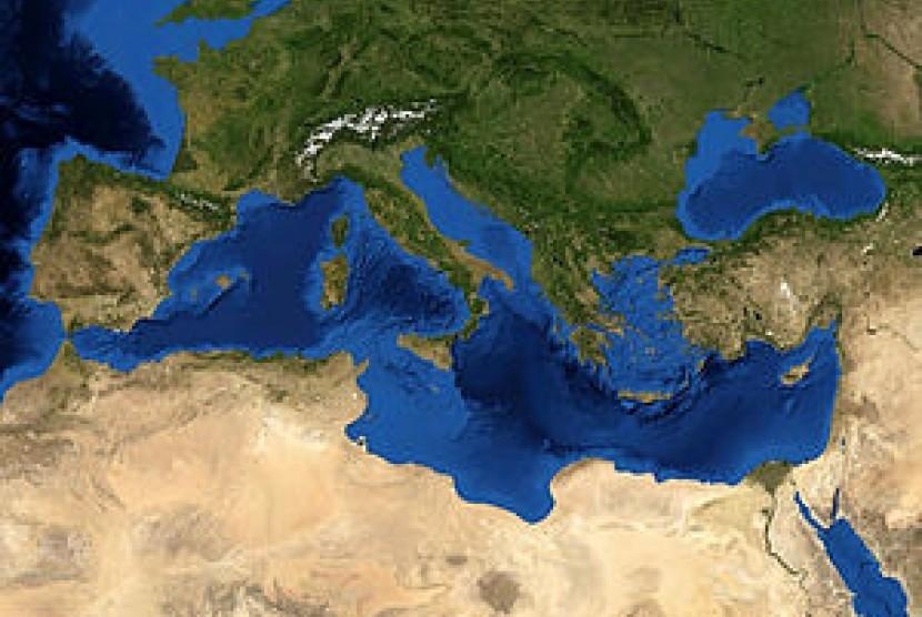 Laut Mediterania atau Laut Tengah