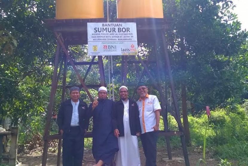 Lazizmu Serahkan Sumur Bor untuk Masjid Terisolir di Kalimantan
