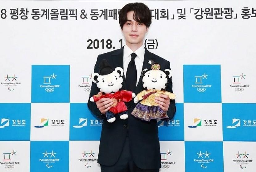 Lee Dong Wook akan Aktif Promosikan Olimpiade Musim Dingin