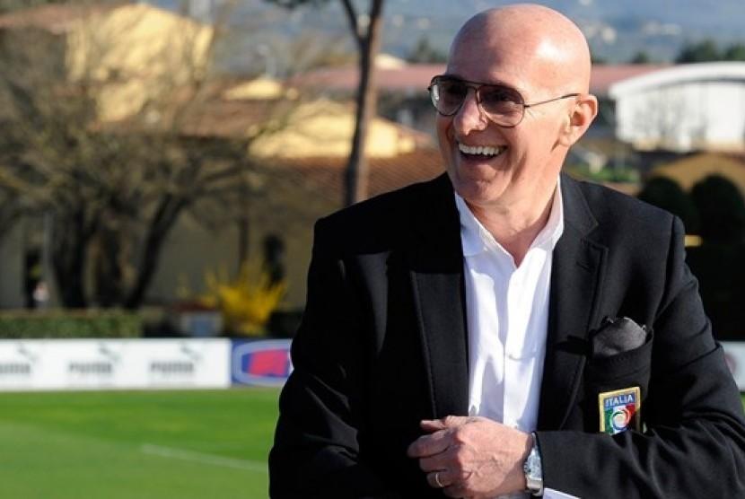 Legenda sepak bola Italia, Arrigo Sacchi.