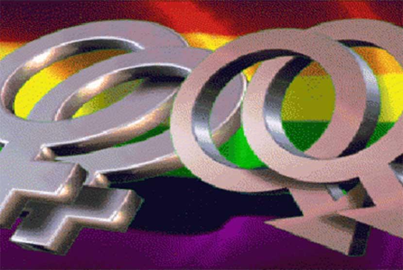 Lesbian dan homo. (ilustrasi)