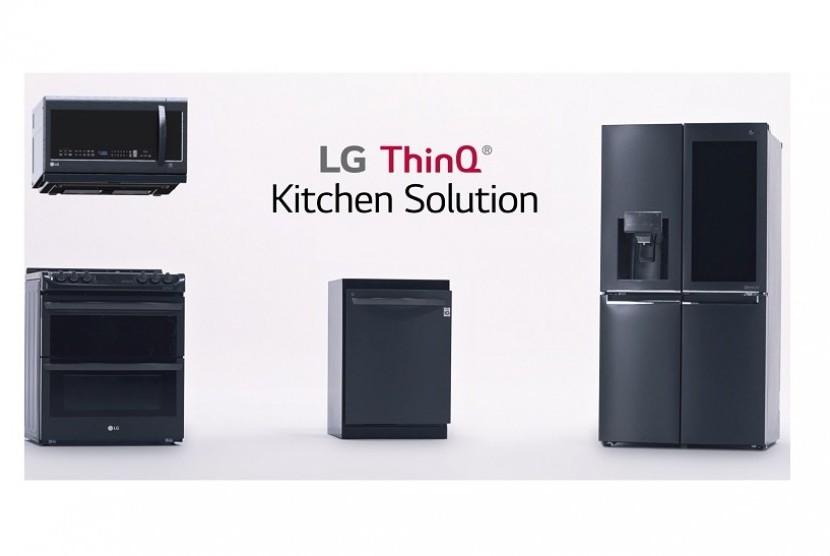 LG perkenalkan dapur masa depan yang saling terkoneksi.