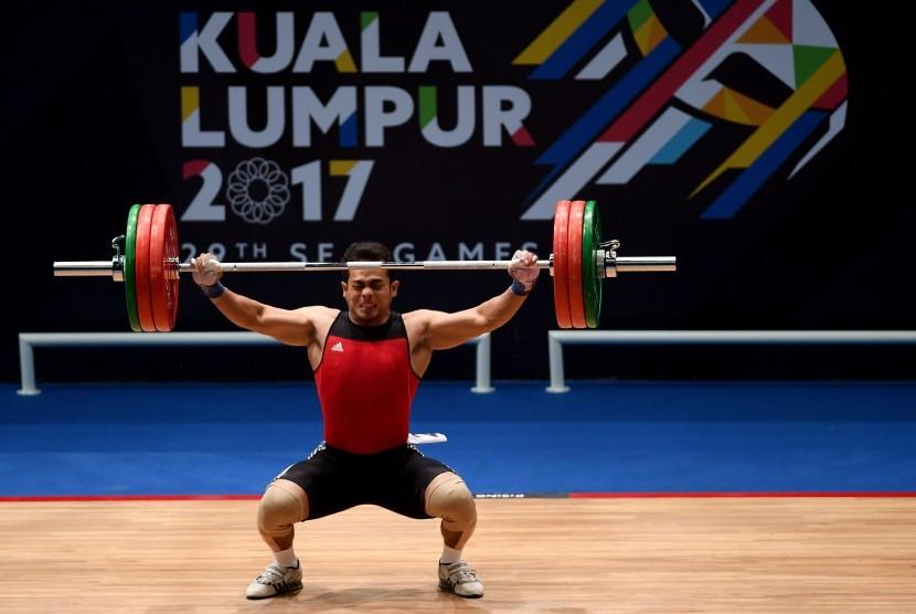 Angkat besi menjadi salah satu cabor andalan Indonesia pada Asian Games 2018. (Ilustrasi)