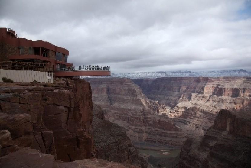 Lima juta orang tercatat menyambangi Grand Canyon setiap tahunnya.