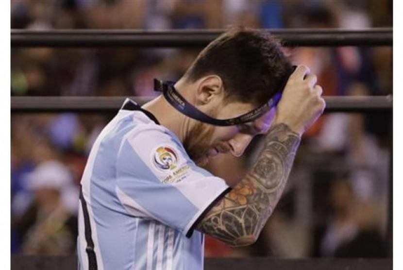 Messi Umumkan Pensiun dari Timnas Argentina
