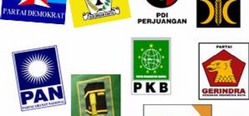 Logo dan lambang partai politik di Indonesia.