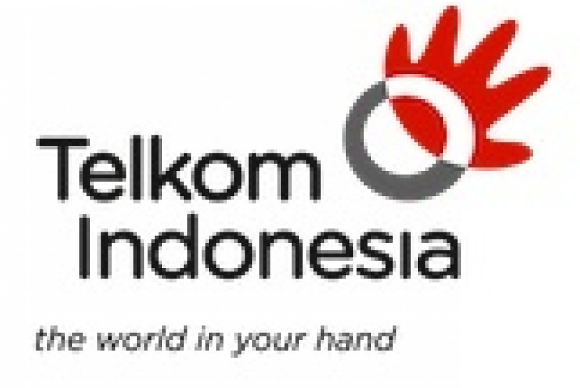Logo of PT Telkom Indonesia (illustration)