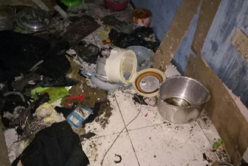 Lokasi ledakkan bom panci di Bandung.