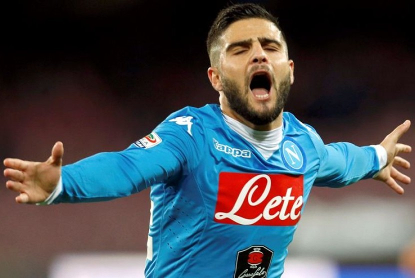 Insigne Belum Pasti Tampil Bela Napoli Lawan Inter Milan