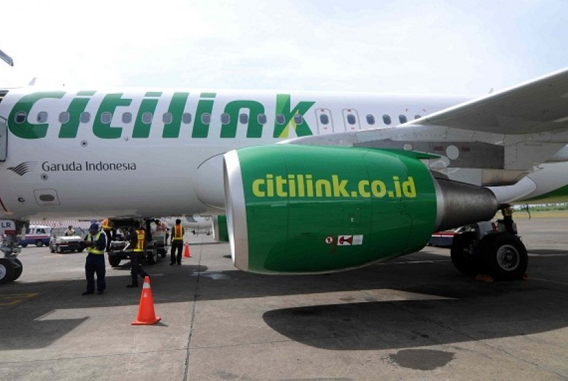 Low cost carrier Citilink Indonesia (file photo)