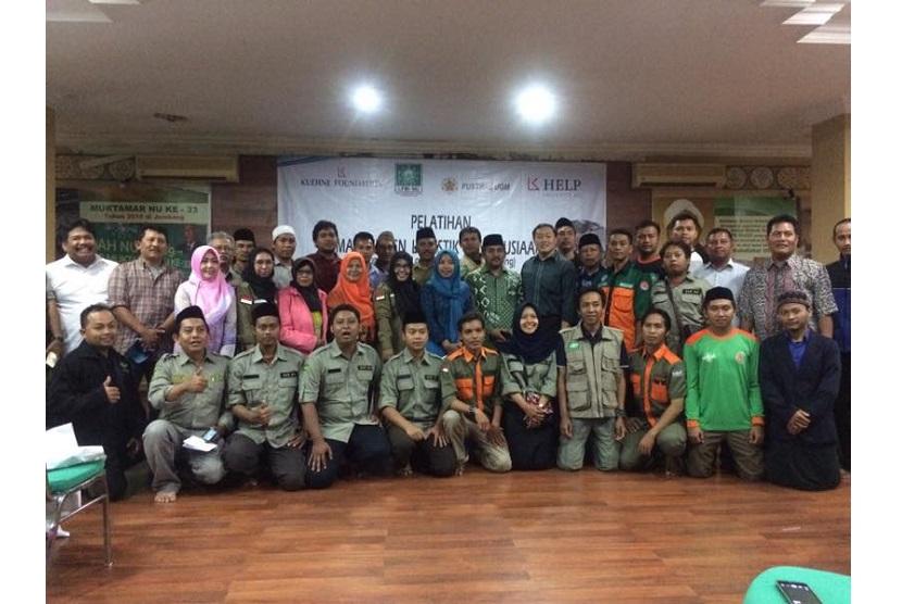 LPBI NU Gelar Pelatihan Manajemen Logistik Kemanusiaan
