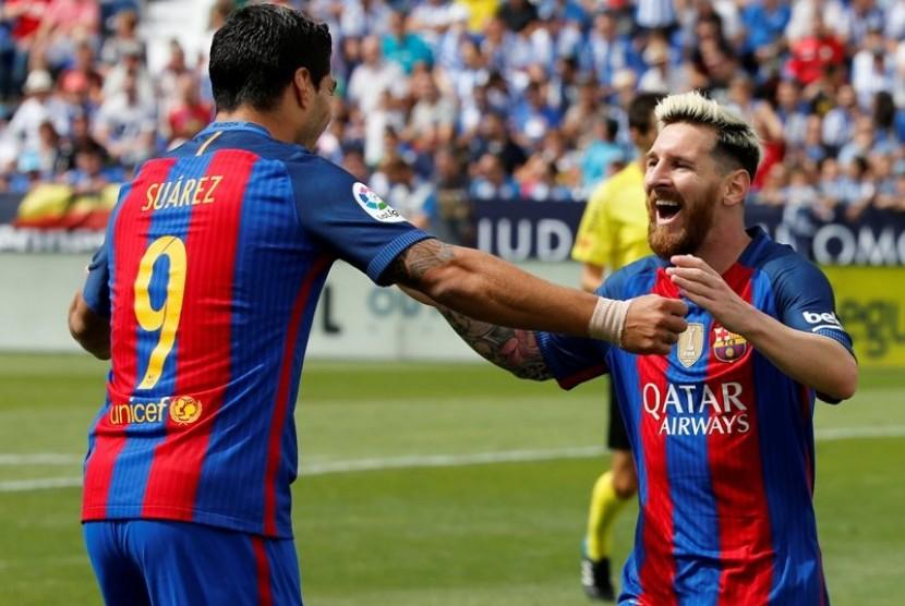 Cukur Villarreal 2-0, Barcelona Kokoh di Puncak Klasemen