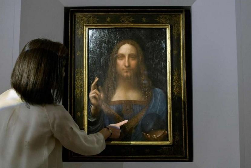 Wow! Lukisan Da Vinci Terjual dengan Harga Rp 6,079 Triliun