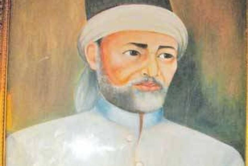 Lukisan Syekh Abdul Rauf Al-Singkili.