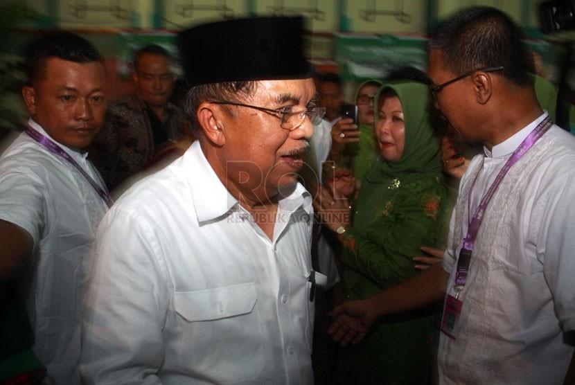 Ketua Umum Dewan Masjid Indonesia Jusuf Kalla. (Republika/Yasin Habibi)