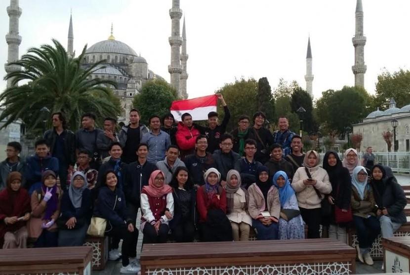 Mahasiswa Indonesia di Turki.
