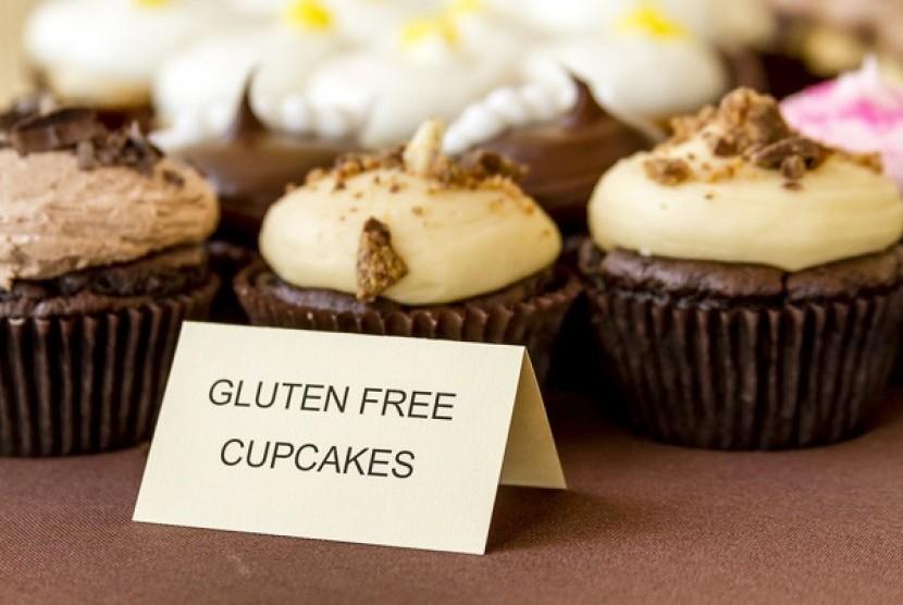 Makanan bebas gluten. Ilustrasi.