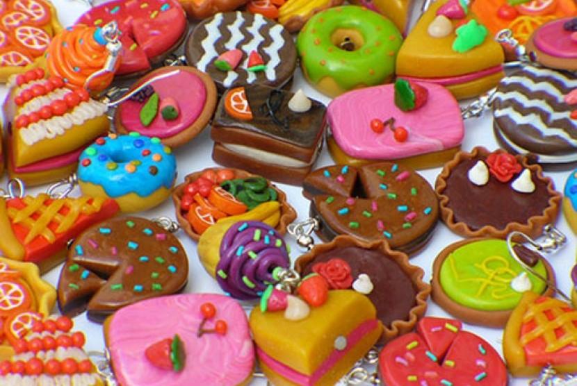 Makanan dengan kadar tinggi gula (ilustrasi)