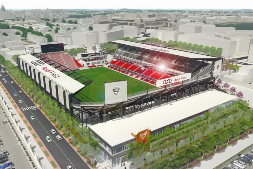 Pembangunan Stadion Baru DC United Dimulai