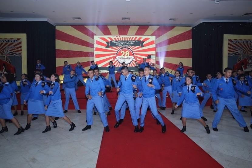 Malam Panda Jaya SMA Taruna Nusantara angkatan 28