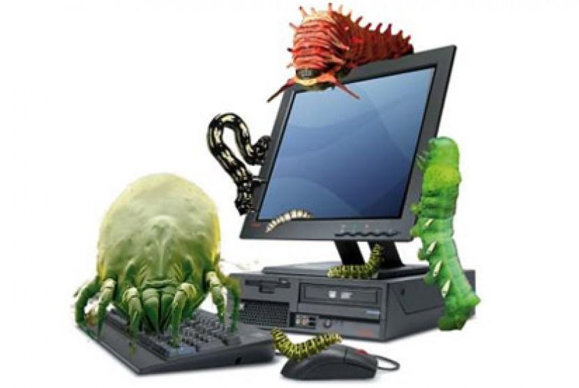 Malware. Ilustrasi.