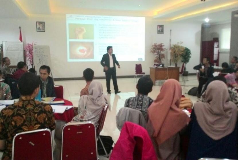 Management Trainee Development Nindya Karya mendapatkan pelatihan berbasis SET.