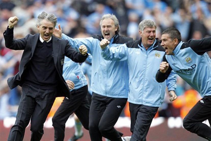 Mancini girang