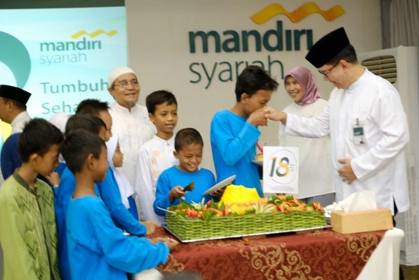 Mandiri Syariah rayakan ulang tahunnya yang ke-18
