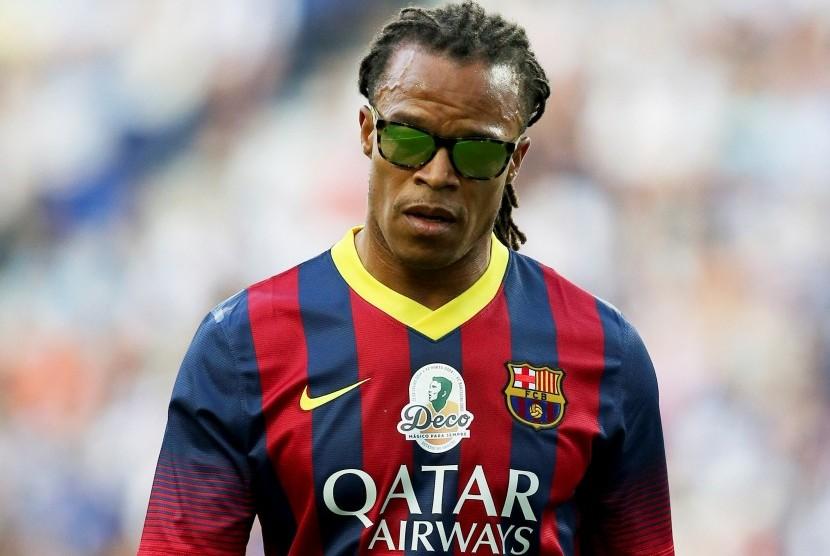 Mantan gelandang Barcelona, Edgar Davids.