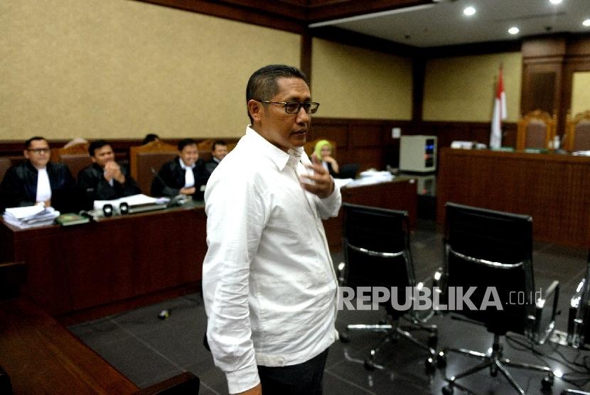 Anas Urbaningrum Mangkir Jadi Saksi Sidang KTP-el