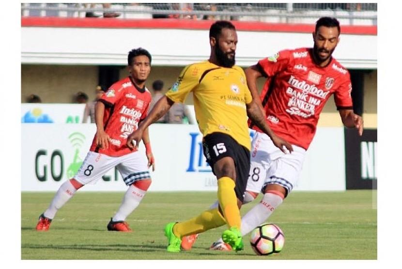 Dua Pemain Bali United Paling 'Beringas' di Liga 1 2017