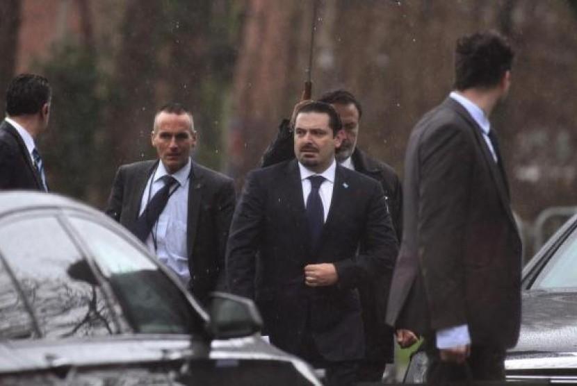 Tillerson akan Bertemu dengan Hariri di Paris