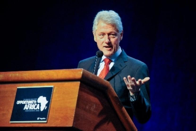Mantan presiden AS Bill Clinton.