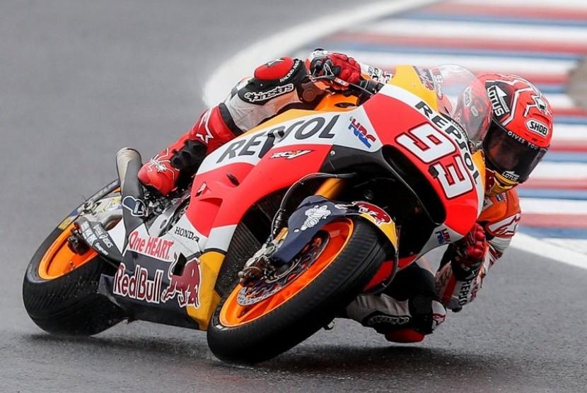 Marquez Start Terdepan pada Balapan MotoGP Catalunya