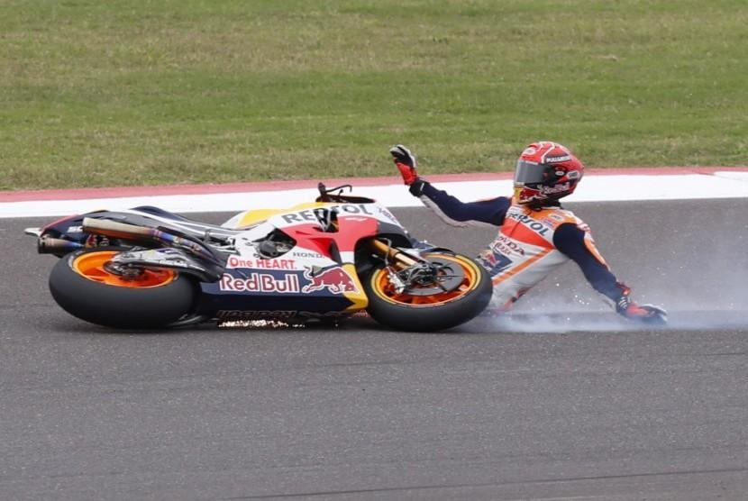 Marquez Kecewa Hasil Buruk di GP Argentina
