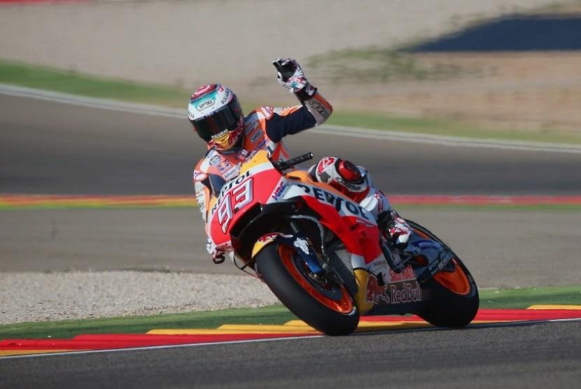 Ini Skenario agar Marquez Bisa Juara Dunia MotoGP di Sepang