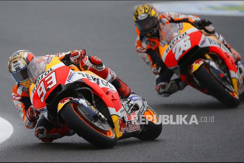 Marquez Raih Pole Position di GP Australia