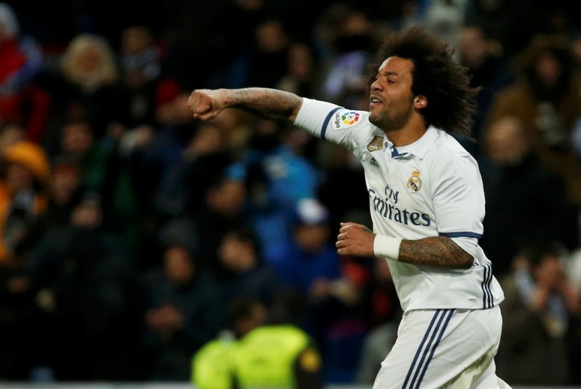 Marcelo: La Liga di Tangan Real Madrid