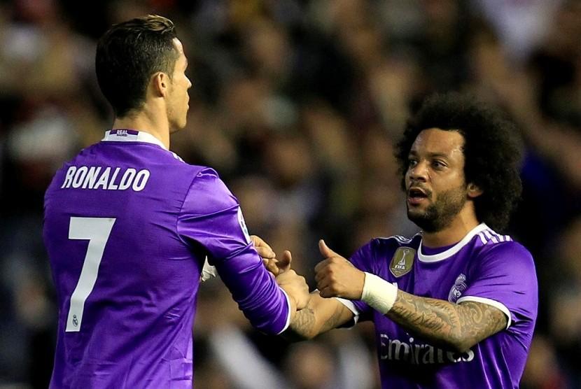 Marcelo: Hasil Imbang Buruk bagi Real Madrid