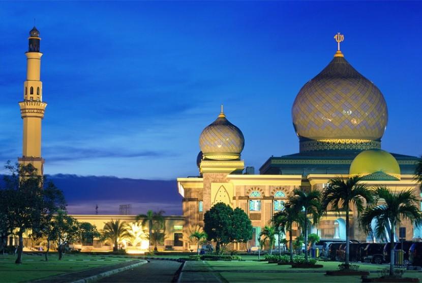 Masjid Agung An-Nur di Riau (Ilustrasi)